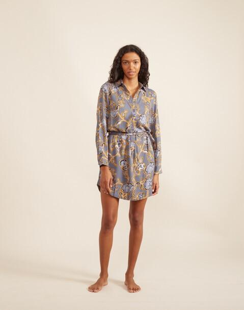 robe courte œillets