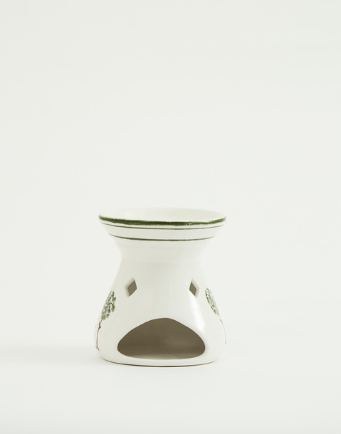 palm tree ceramic oil burner