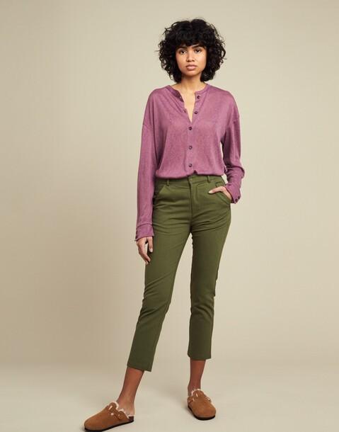 straight leg trouser pant