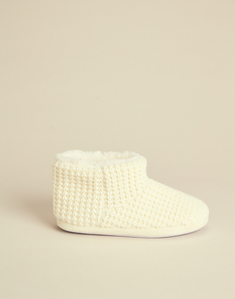 tricot slipper boot