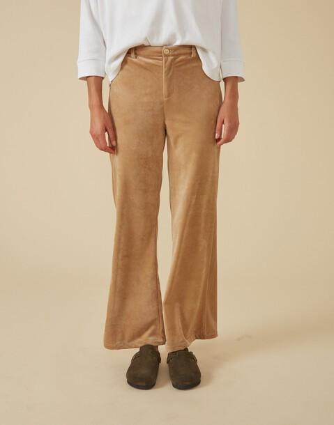 pantalón velvet acampanado