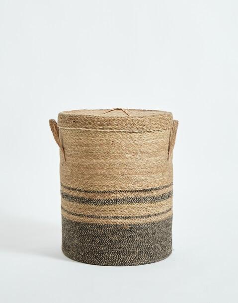 cesta con tapa 40*35