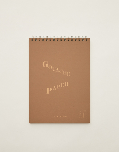 gouache sketchbook