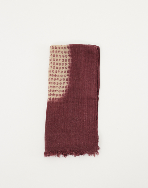 small stamps scarf