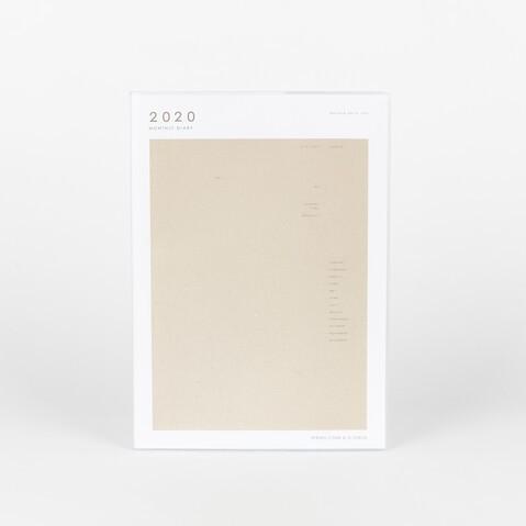 ORGANIZADOR MENSUAL 2020