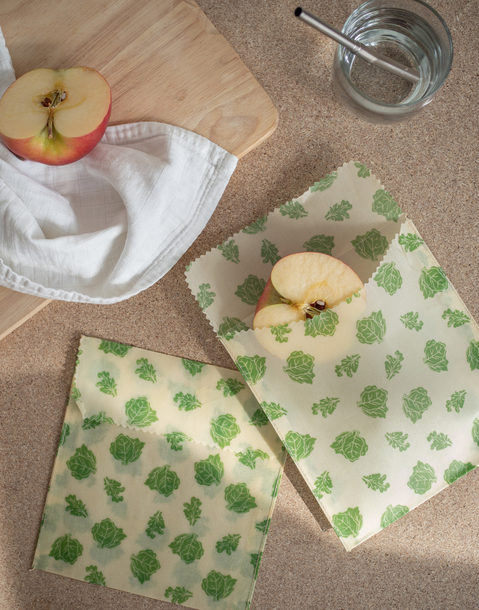 natura beeswax sandwich bag set
