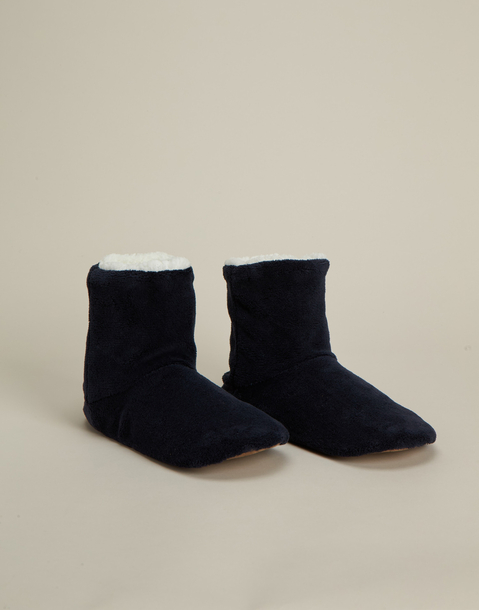 men's basic boot slipper