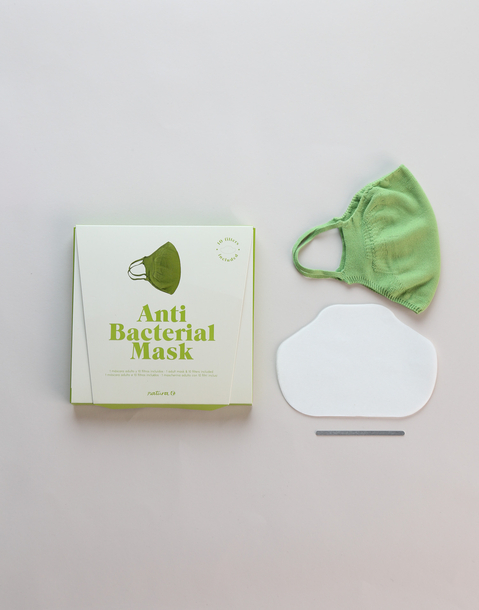 anti-viral and anti-bacterial reusable mask + 10 filters