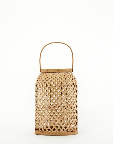 farol bambú pequeño
