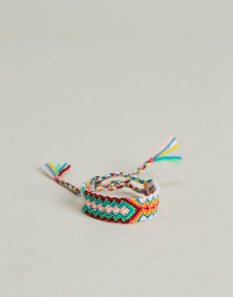 bracelet fil tresse