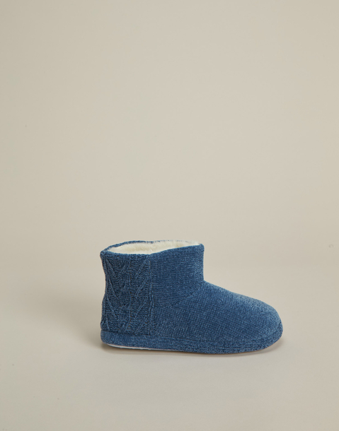 fleece furry boot slipper