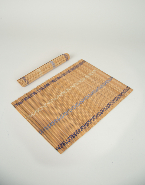 2-set bamboo placemats