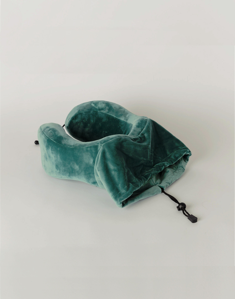 velvet travel pillow