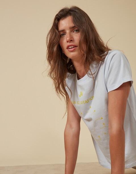 sun salutation t-shirt