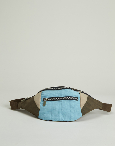 tricolor belt bag