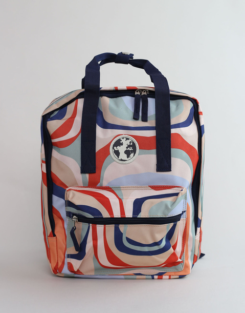 psico print backpack
