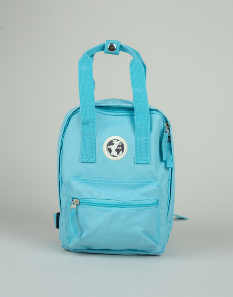 small squared shool backpack