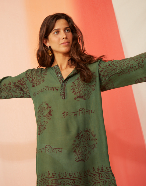 tunique indienne sanskriti
