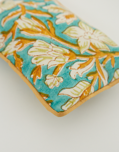 indian print coin pouch