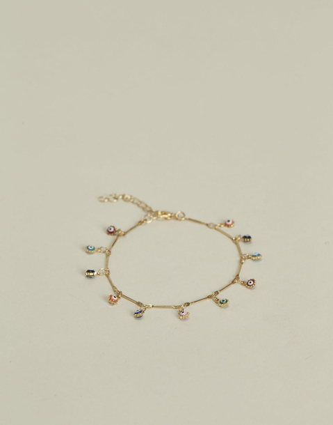 bracelet pendentif œil turc