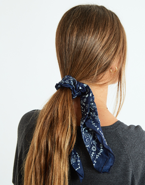 bandana scarf scrunchie set
