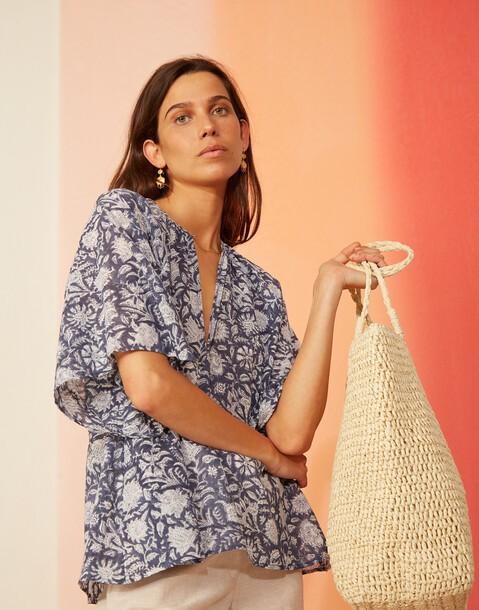 cotton indian blouse