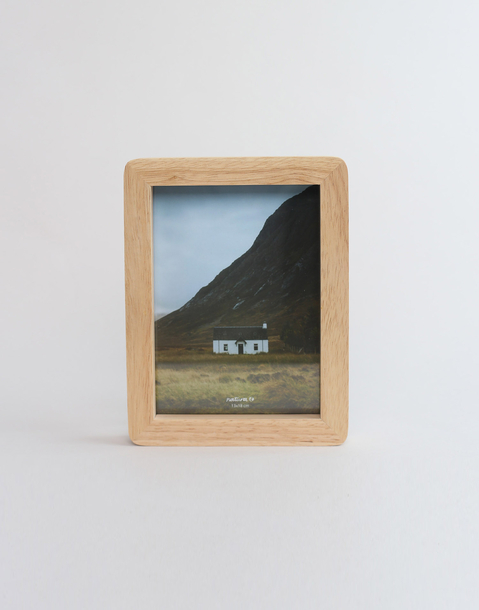 13 x 18 cm oak photo frame