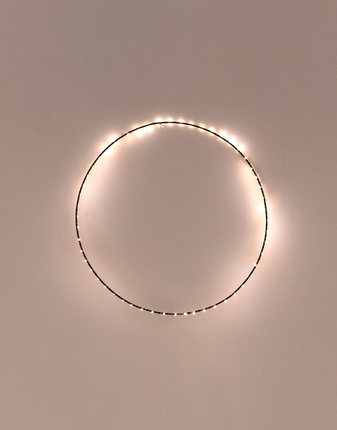 small ring string lights