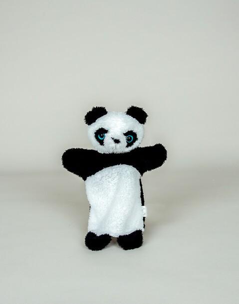 panda handpuppe