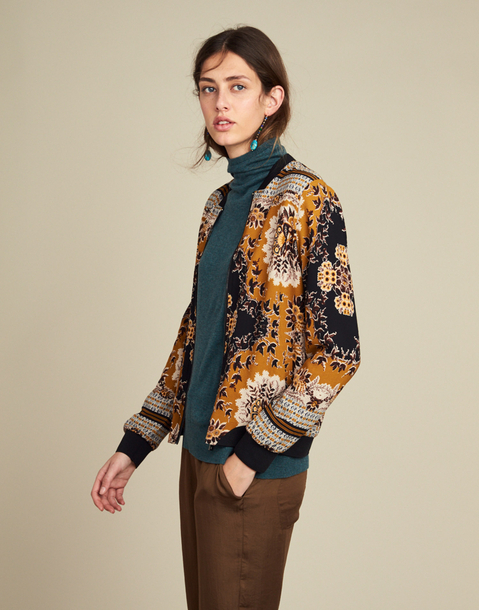 BOMBER ESTAMPADO RETRO