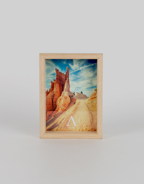 wooden photo frame 10 x 15 cm