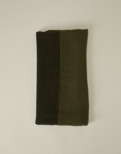 bicolored foulard