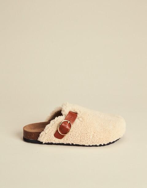 fleece clog