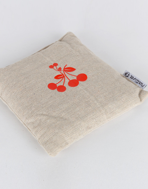 cherry stones pillow