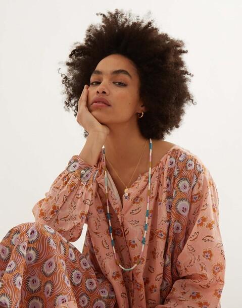 floral prints maxi dress
