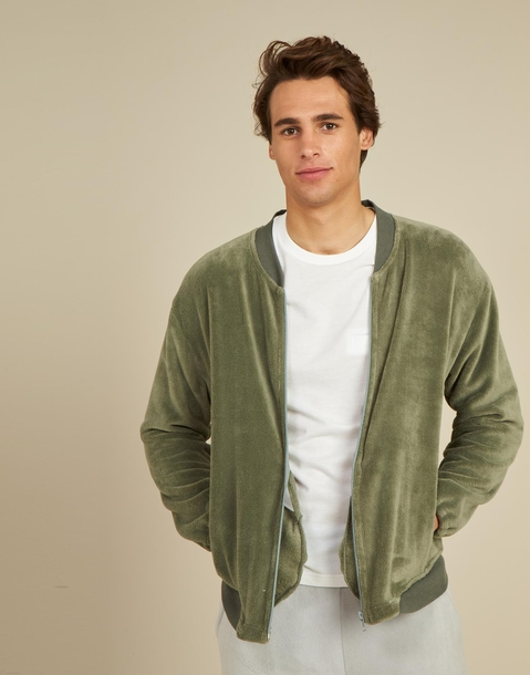 men's homewear bomber