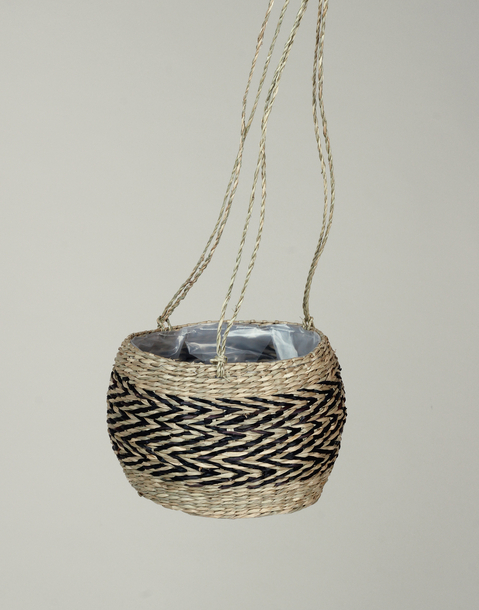 namibia hanging planter basket