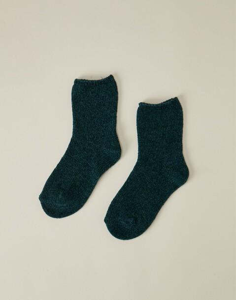 chaussettes fines chenille