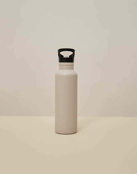 metal bottle with straw 500ml