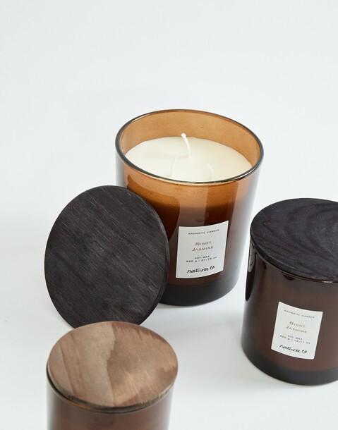 candela di soia profumata 600 g