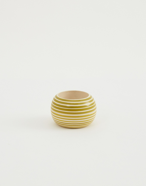 striped napkin ring