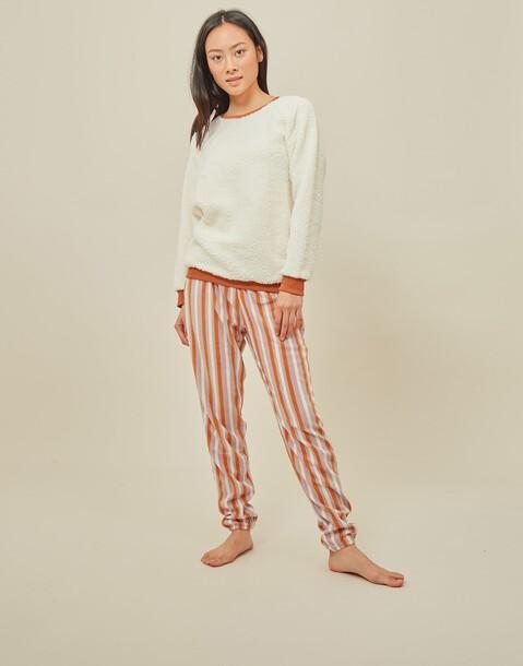 set pijama rayas