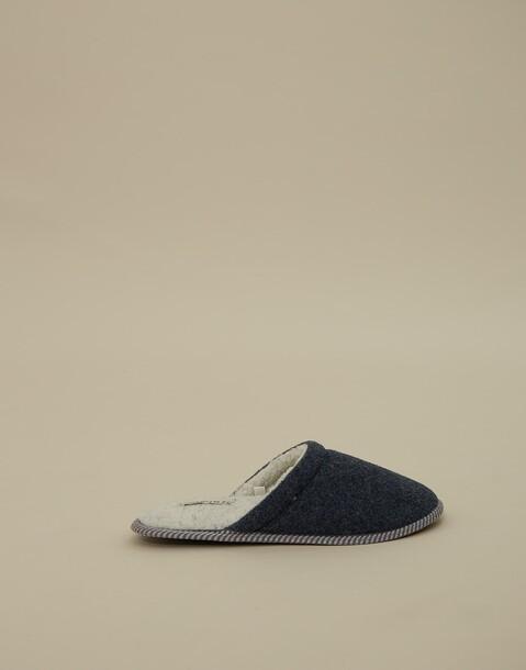 pantofole feltro uomo