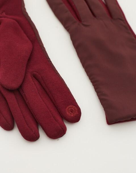 handschuh aus nylon mit touchfunktion