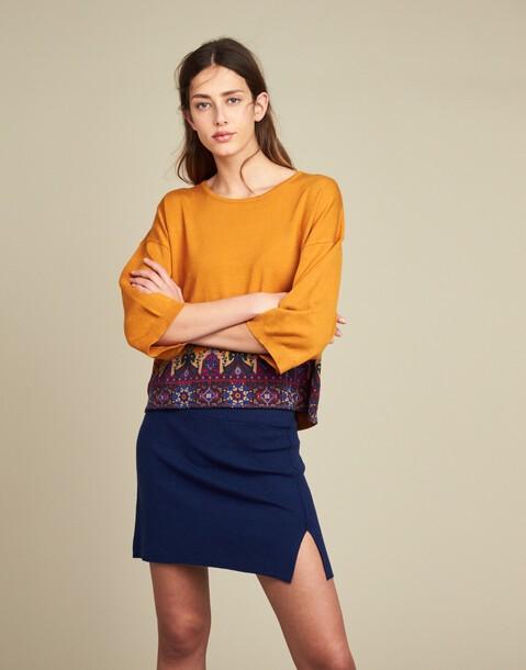short skirt side cut