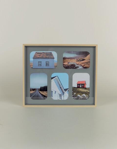 marco de madera básico 5 fotos