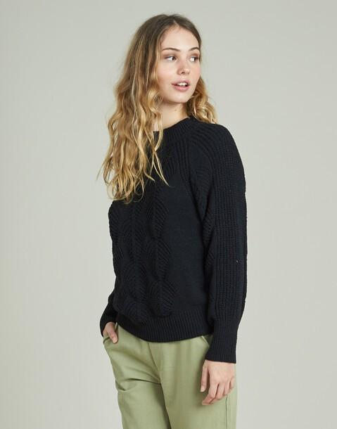 maglione traforato