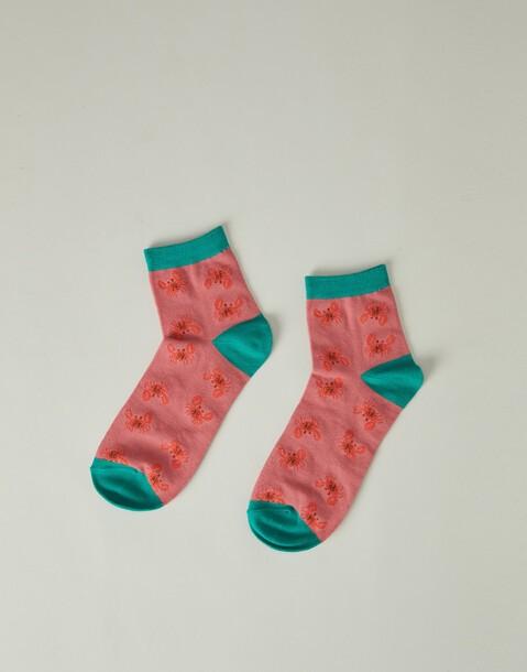 chaussettes cheville crabes femmes