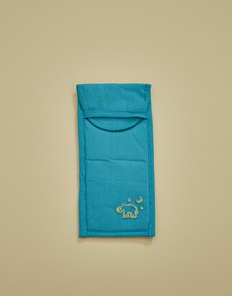 india cotton eyewear case