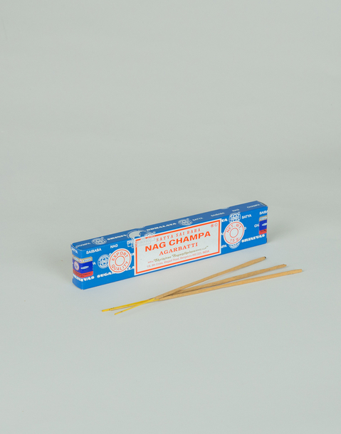 incenso nag champa blu